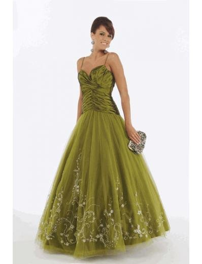 A-Line/Princess spaghetti straps Floor Length Satin Bridesmaid dress for brides new Style(BMD0228)