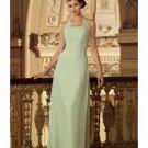 A-Line/Princess Halter Top Floor-Length Satin Bridesmaid dress for brides new Style(BMD0009)