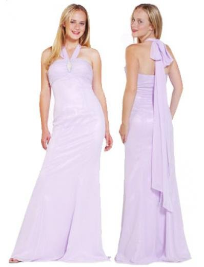 A-Line/Princess Halter Top Floor Length Satin Bridesmaid Dresses for brides new style(BMD0121)