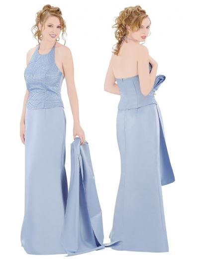 A-Line/Princess Queen Anne Floor Length Satin Bridesmaid Dresses for brides new style(BMD0122)