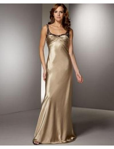 Empire Scoop Sweeping train Satin Bridesmaid Dresses for brides new style(BMD0140)