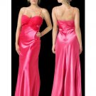 Column/Sheath spaghetti straps Floor Length Satin Bridesmaid dress for brides new Style(BMD0088)