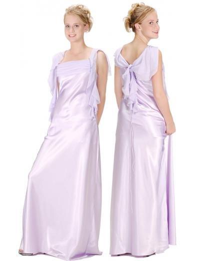 A-Line/Princess Square Floor Length Satin Bridesmaid Dresses for brides new style(BMD0119)