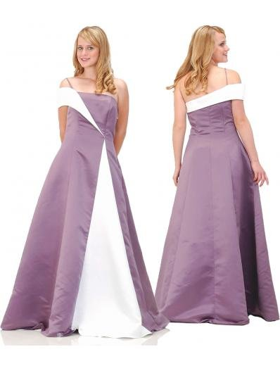 A-Line/Princess Asymmetric Floor Length Satin Bridesmaid Dresses for brides new style(BMD0131)
