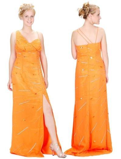 A-Line/Princess Asymmetric Floor Length Satin Bridesmaid Dresses for brides new style(BMD0136)
