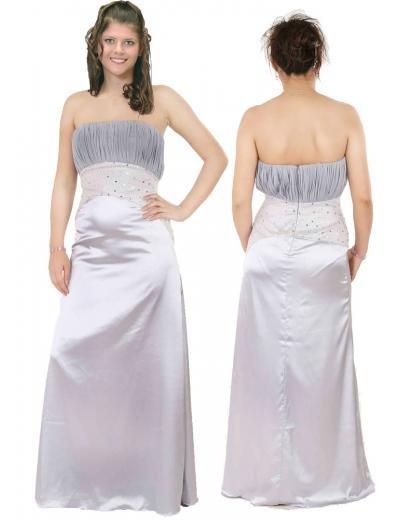 Column/Sheath Strapless Floor Length Satin Bridesmaid dress for brides new Style(BMD0127)