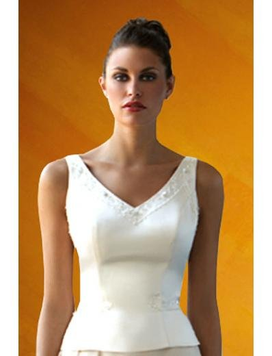 A-Line/Princess V-neck Floor Length Satin Bridesmaid Dresses for brides new style(BD0090)