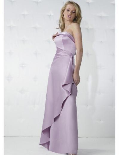Empire Strapless Floor-length Taffeta Bridesmaid Dresses for brides new Style(BD0170)