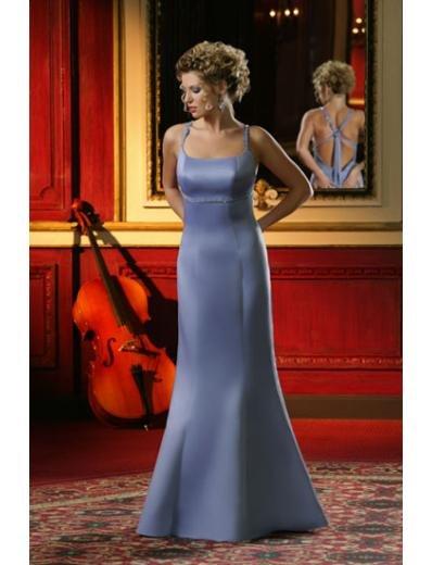 Mermaid Scoop Floor-length Satin Bridesmaid Dresses for brides new Style(BD0009)