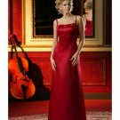 Column/Sheath Square Floor-length train Satin Bridesmaid Dresses for brides new style(BD0011)