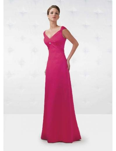 A-Line/Princess Off-The-Shoulder Floor Length Satin Bridesmaid Dresses for brides new Style(BD0150)