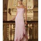 A-Line/Princess Strapless Floor-Length Chiffon Bridesmaid dress for brides new Style(BD0004)
