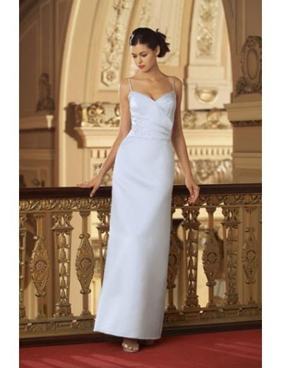 Column/Sheath Sweetheart Floor-length train Satin Bridesmaid Dresses for brides new style(BD0006)