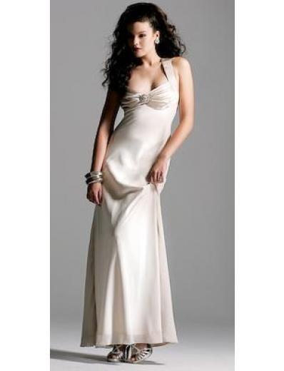 Column/Sheath Asymmetric Floor-length train Satin Bridesmaid Dresses for brides new style(BMD0143)
