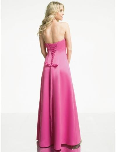 A-Line/Princess Strapless Floor length Chiffon Bridesmaid Dresses for brides new style(BMD0160)