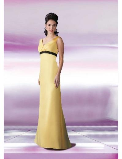 Column/Sheath Strapless Floor Length Satin Bridesmaid Dresses for brides new style(BD0131)