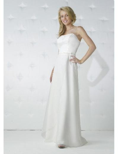 Empire Strapless Floor-length Chiffon Bridesmaid Dresses for brides new Style(BD0163)