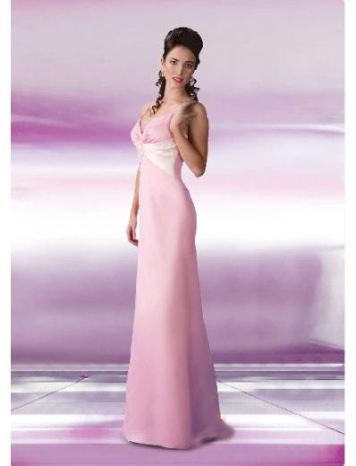 Empire Spagetti Straps Floor-length Satin Bridesmaid Dresses for brides new Style(BD0133)