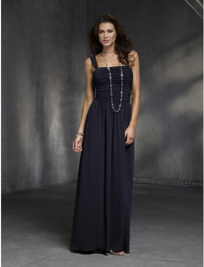 Column/Sheath Square Sweeping Train Chiffon Bridesmaid Dresses for brides new style(BMD0150)