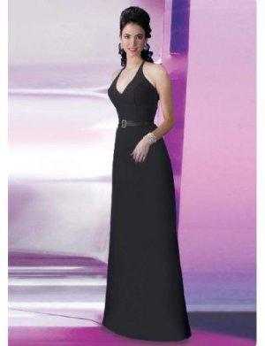 A-Line/Princess Halter Top Floor length Satin Bridesmaid Dresses for brides new style(BD0124)