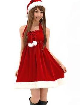 A-line /Princess Halter up Tea-length Satin Evening Dresses (32)