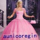 2011 pink Quinceanera senior prom Evening dress *custom
