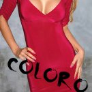 Black Red Sexy Women's Clothing for Clubwear Halter Tops Blouse Free Size