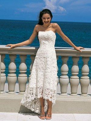 A-Line/Princess Strapless Floor-length Satin Lace Wedding dress for brides 2010 style(DEX0046)