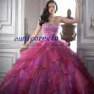 2011 new beaded Quinceanera senior prom Evening dress