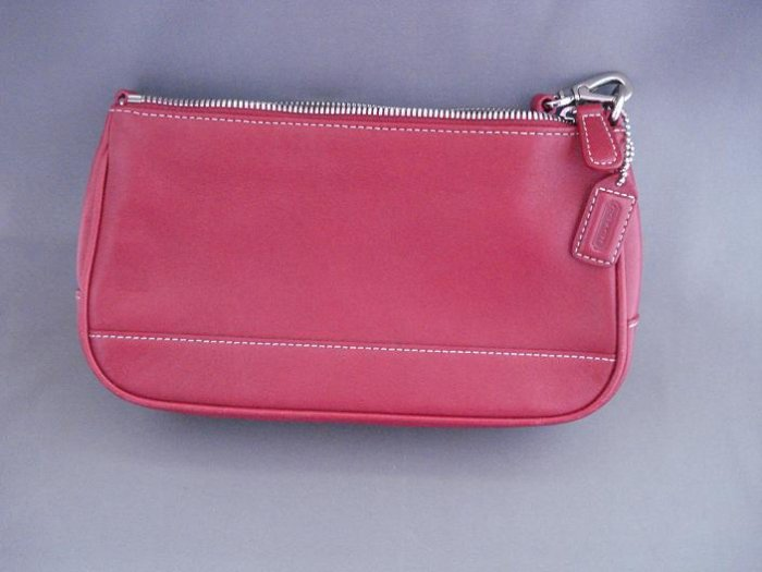 HAND BAGS (PURSE): Coach Women's Red hand bag (purse)