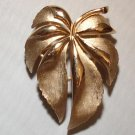BROOCH (PIN): Trifari Vintage Women's Multiple Gold Leaves