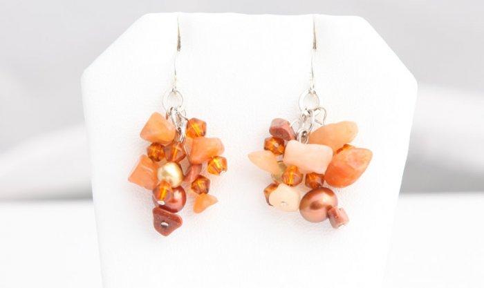 Auburn Pearl Earrings        ep3031
