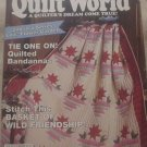 Quilt World Magazine July 1992