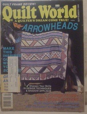 Quilt World Magazine September 1988