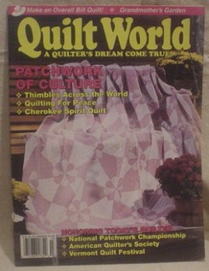 Quilt World Magazine February/March 1992