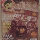 Quick & Easy Quilting Magazine October 2002