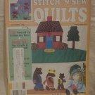 Stitch 'N Sew Quilts Magazine December 1988