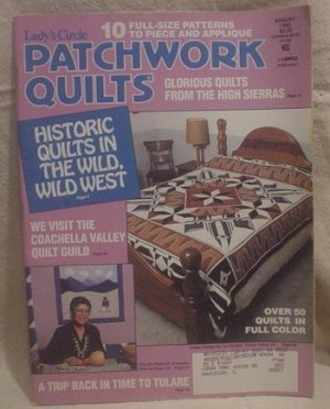 Lady's Circle Patchwork Quilts Magazine August 1992