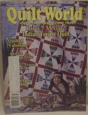 Quilt World Magazine March 1989