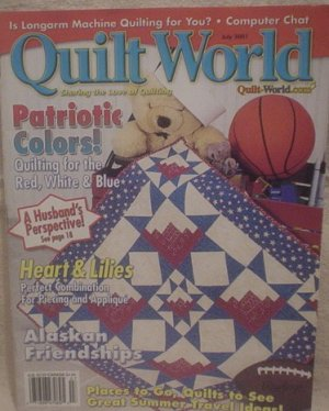 Quilt World Magazine July 2001