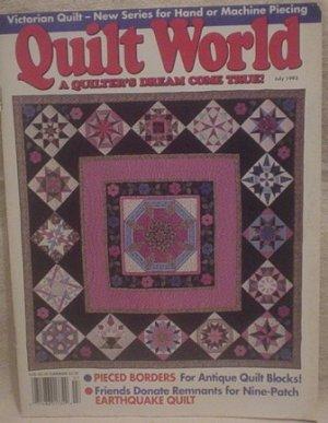 Quilt World Magazine July 1993