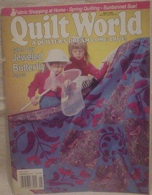 Quilt World Magazine May 1990