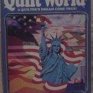 Quilt World August 1986