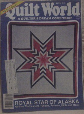 Quilt World April 1987