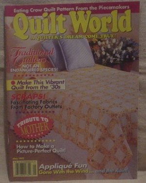 Quilt World May 1993
