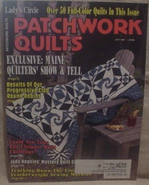 Lady's Circle Patchwork Quilts Magazine July 1995
