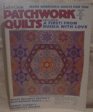 Lady's Circle Patchwork Quilts Magazine Jan/Feb 1991