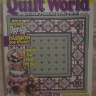 Quilt World Magazine May 1989
