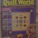 Quilt World Magazine September 1992