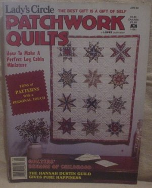 Lady's Circle Patchwork Quilts Magazine Jan 1988